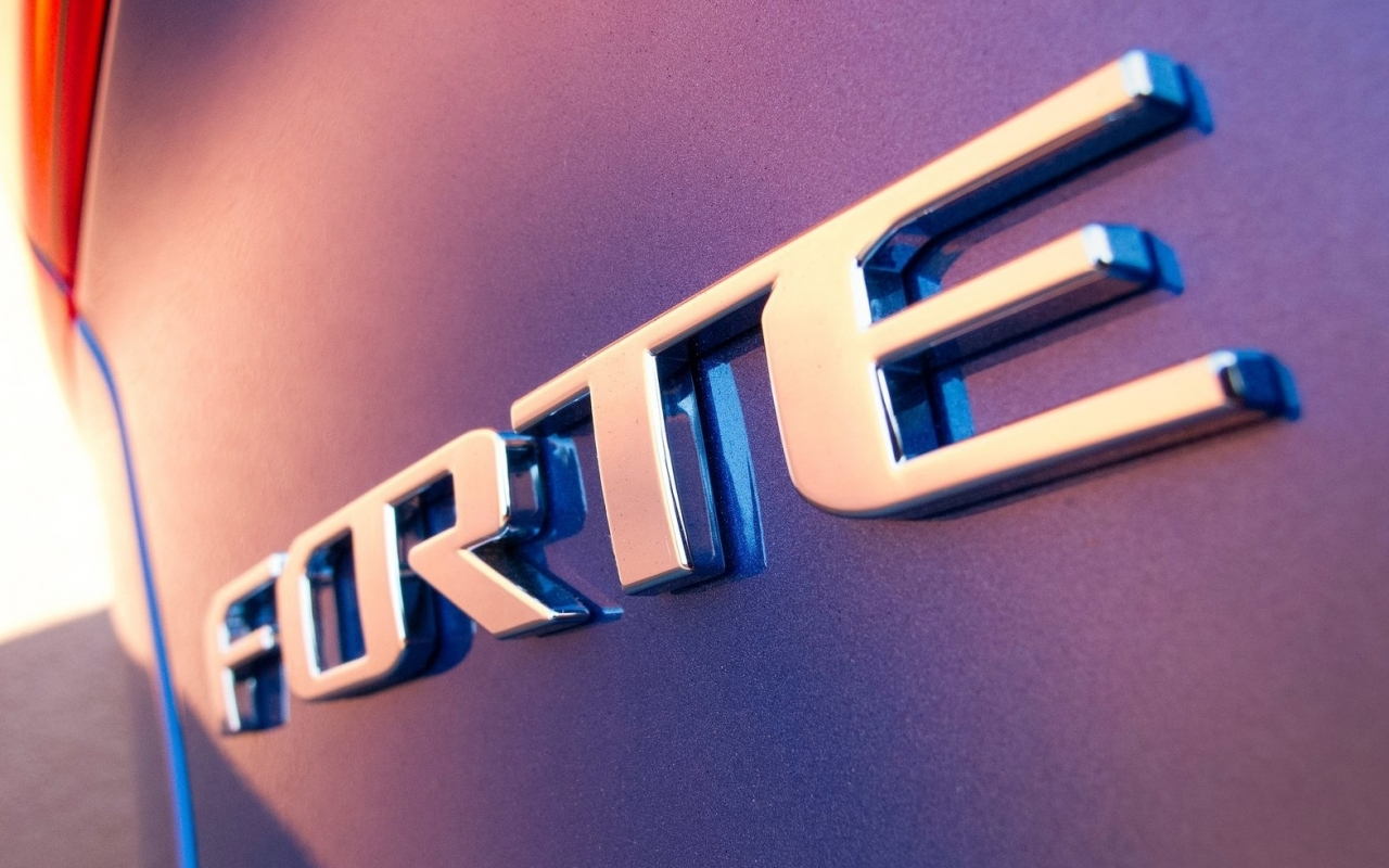 Kia Forte Emblem Wallpaper