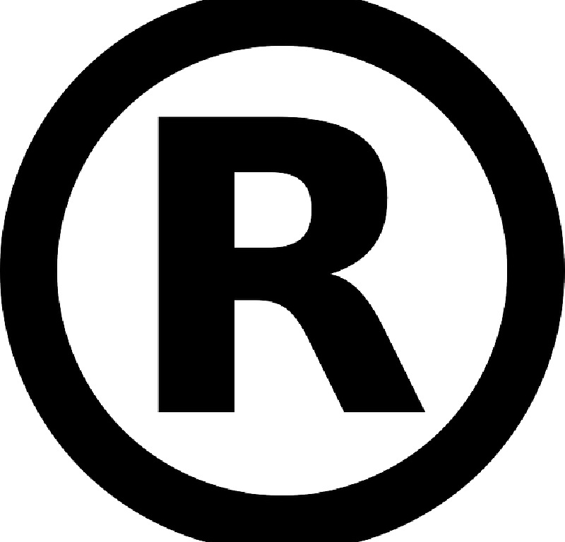 Translate registered trademark symbol from English to French