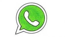 Whatsapp Drawn Logo