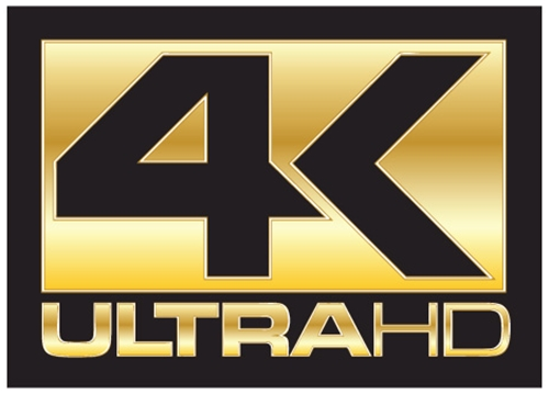 4K Ultra HD Logo Wallpaper