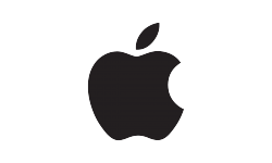 Apple Black Logo