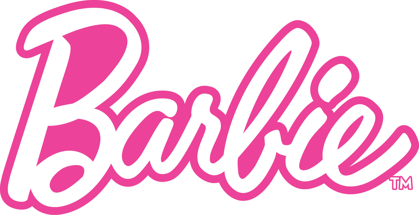 Barbie Pink Logo Wallpaper