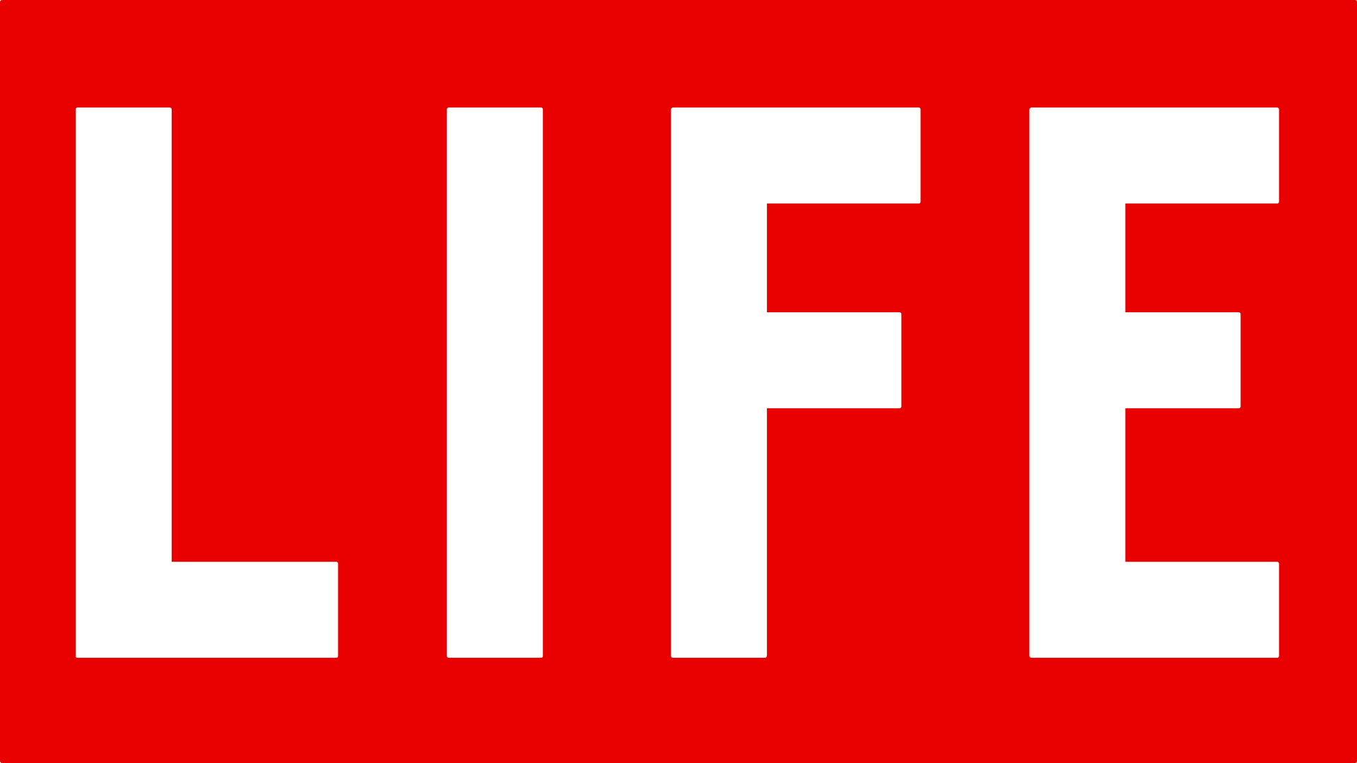Life Red Logo Wallpaper