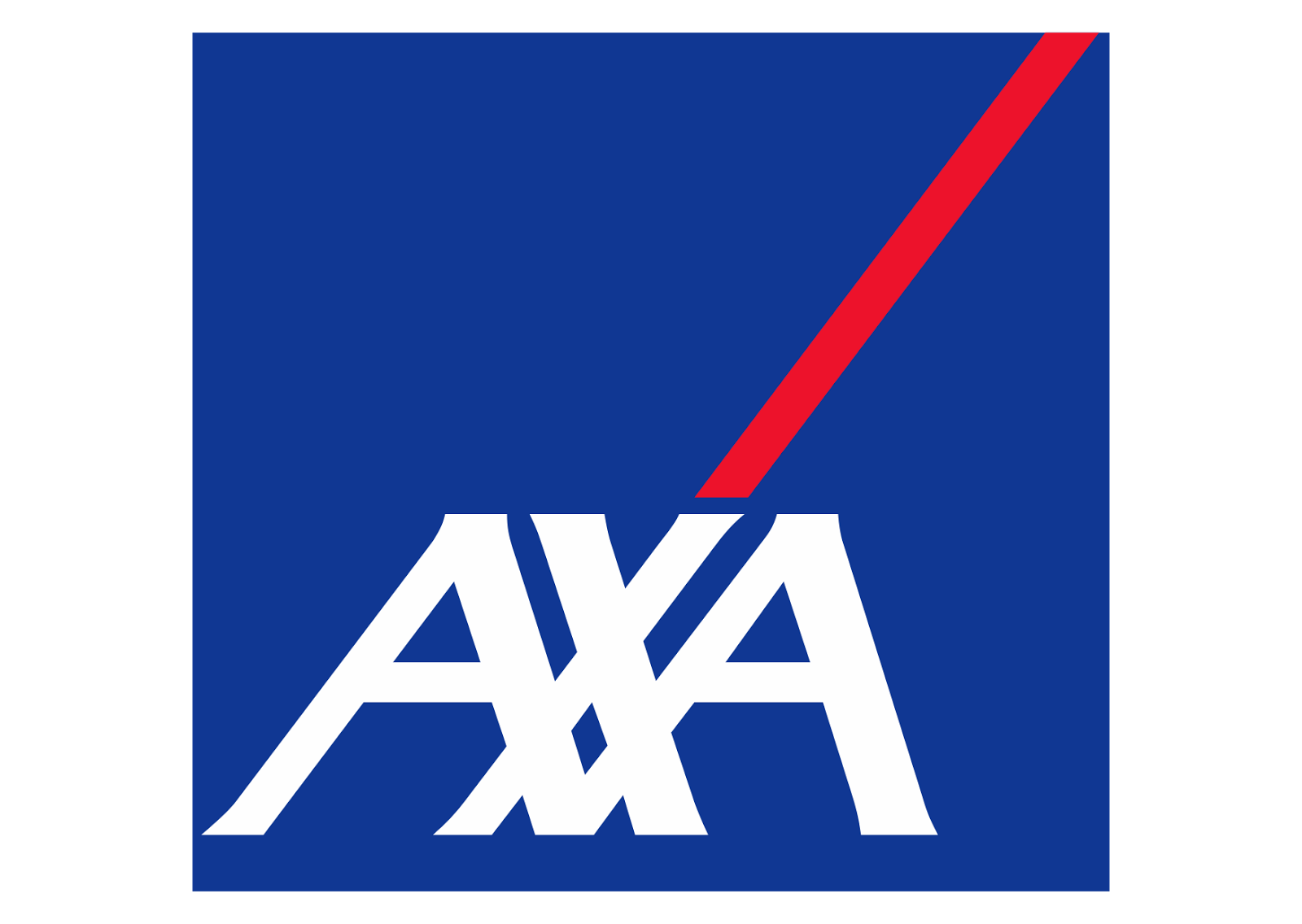 AXA Logo Wallpaper