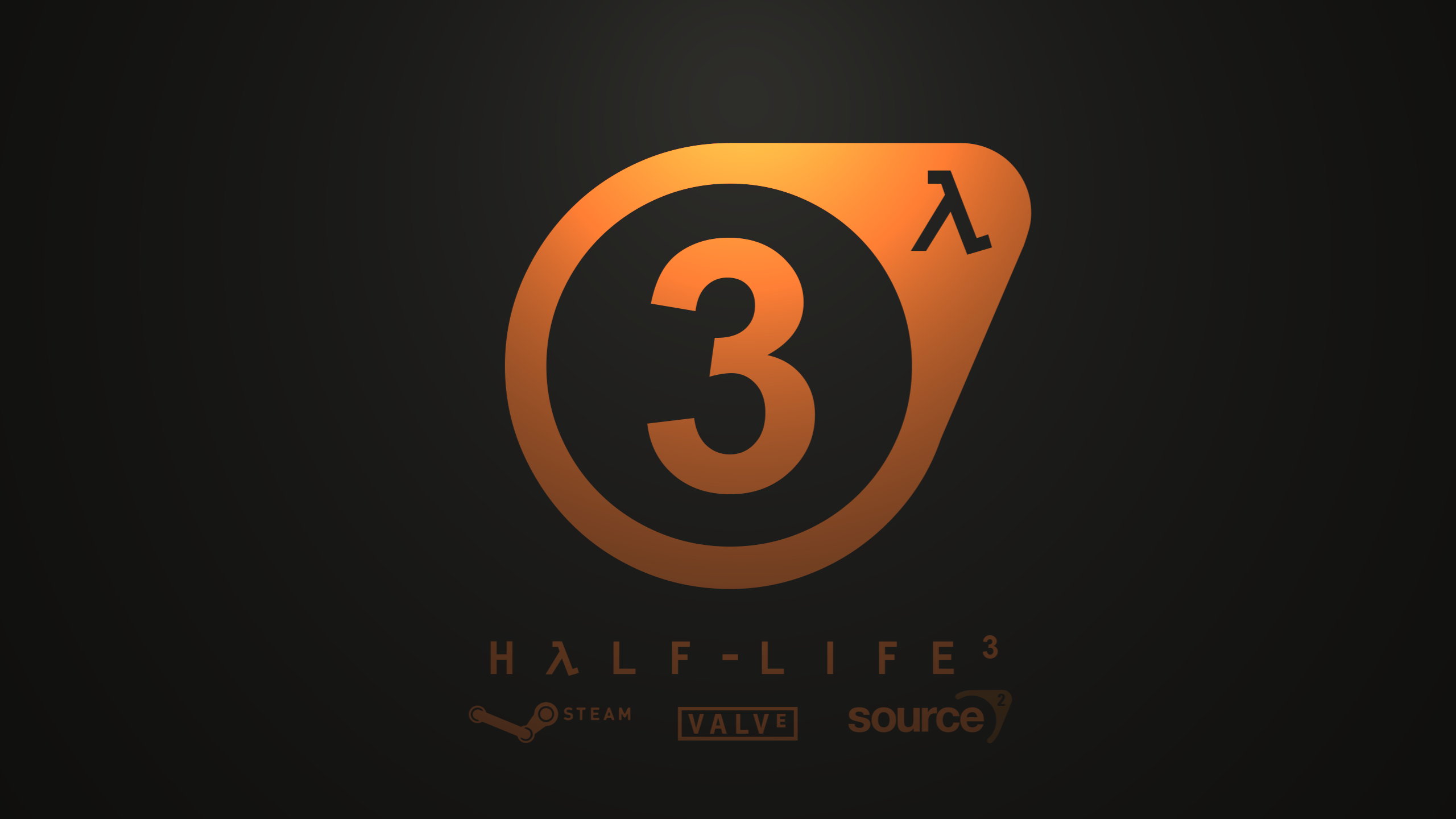 Half-Life 3 Logo Wallpaper