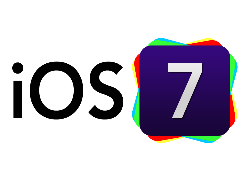 IOS 7 Logo Wallpaper