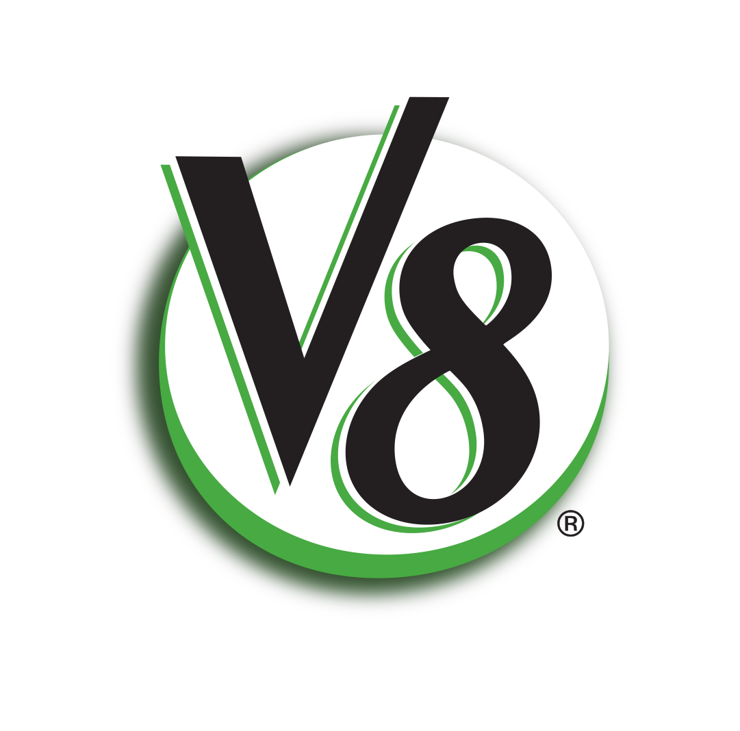 V8 Logo Wallpaper