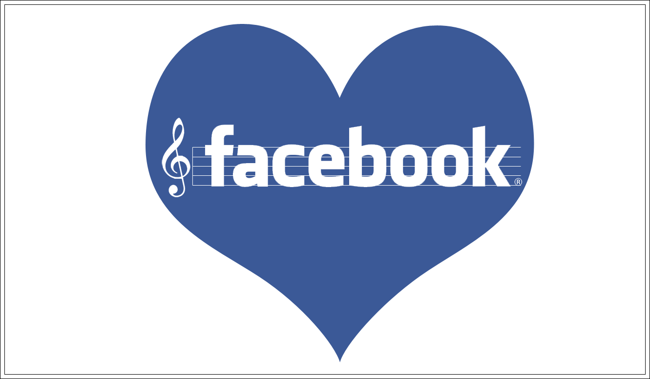 Facebook Music Logo Wallpaper