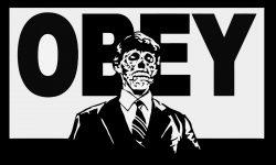 Obey Skeleton Logo