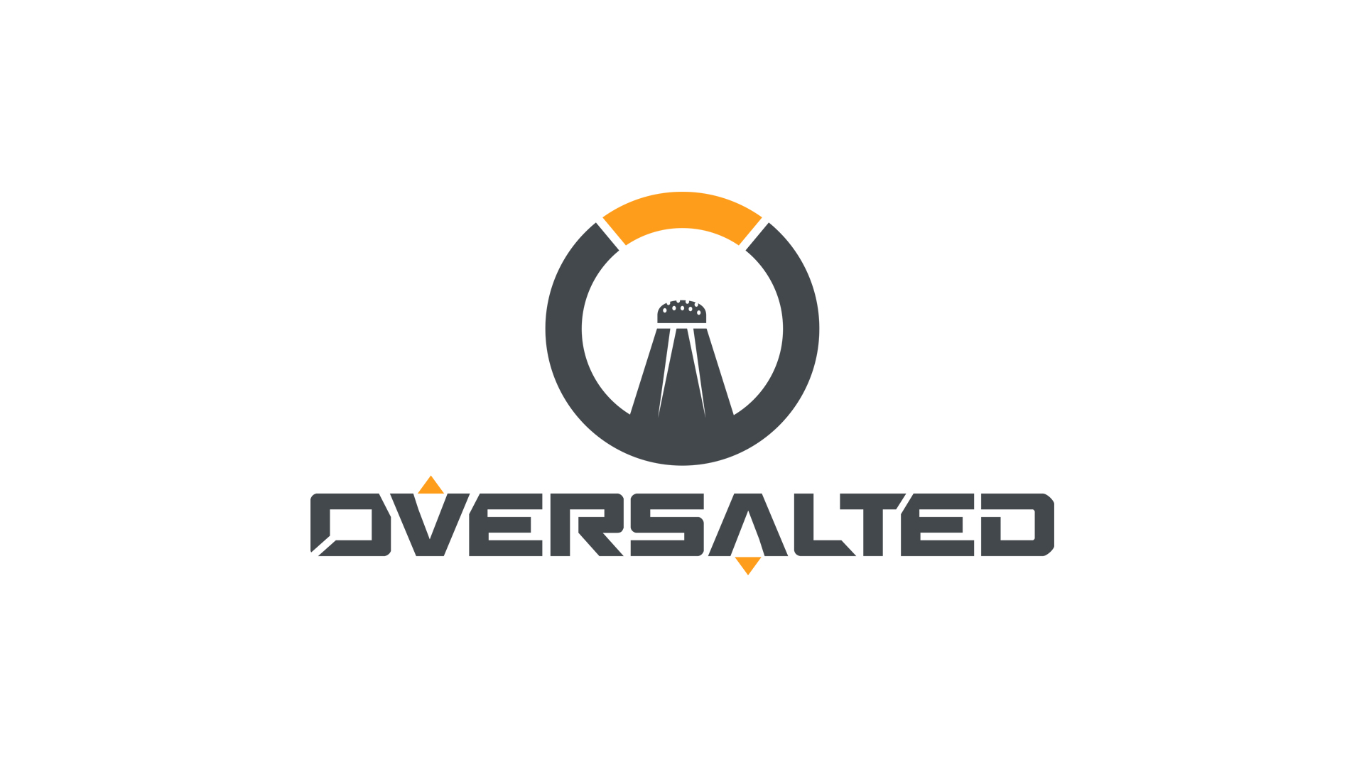 Oversalted Logo Wallpaper