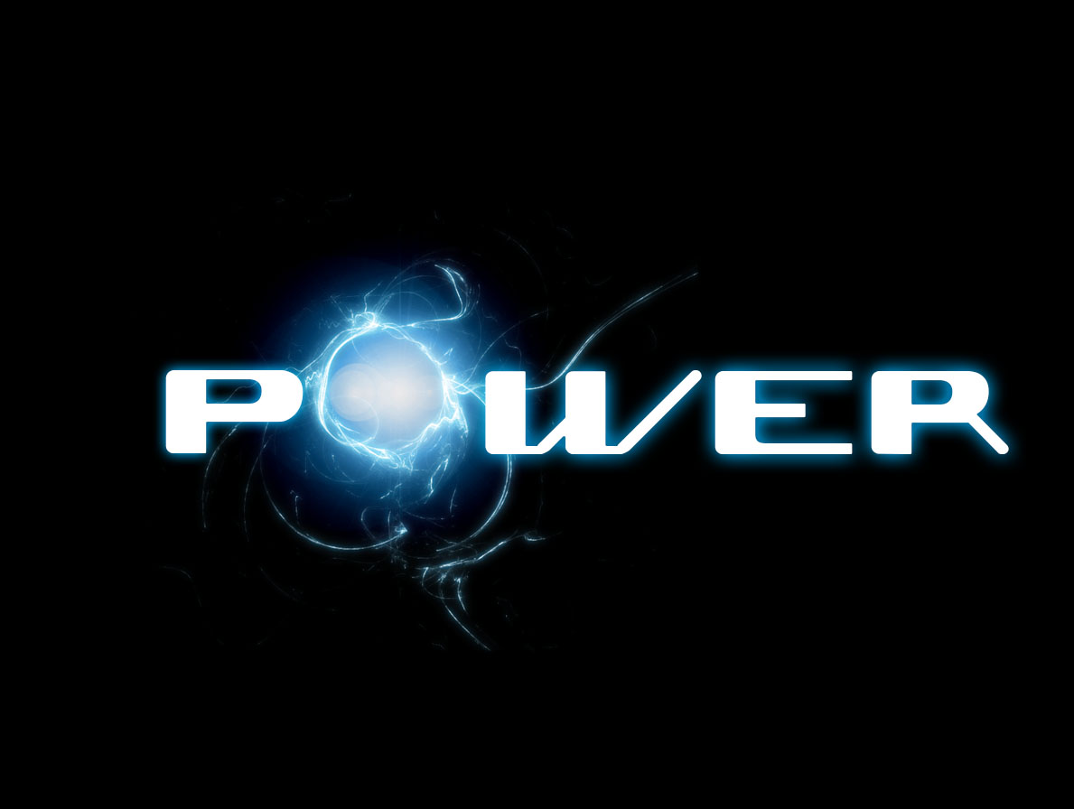 Power Creative Logo Wallpaper