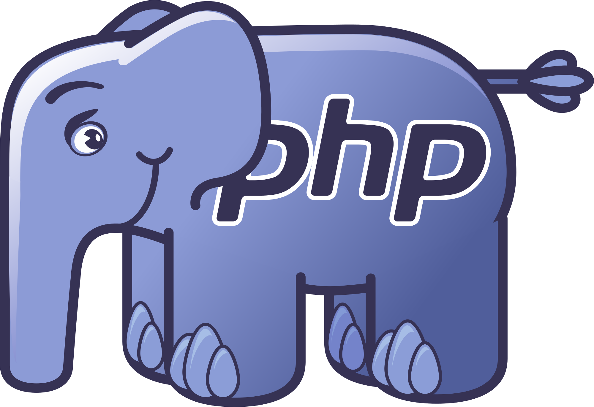 PHP Emblem Wallpaper