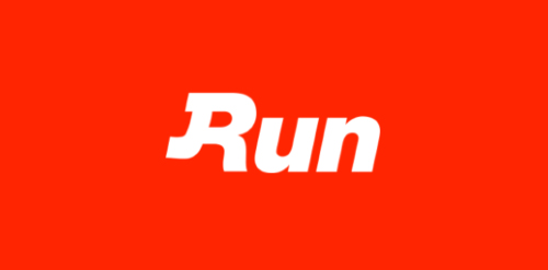 Run Red Logo Wallpaper