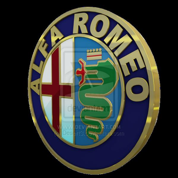 Alfa Romeo Logo 3D Wallpaper