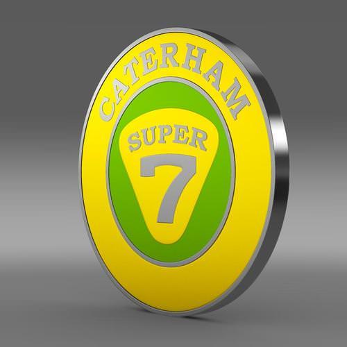 Caterham Logo 3D Wallpaper
