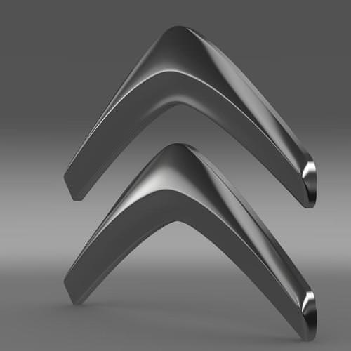 Citroen Logo 3D Wallpaper