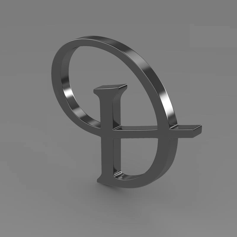 Daimler Logo 3D Wallpaper