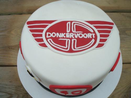 Donkervoort Logo 3D Wallpaper