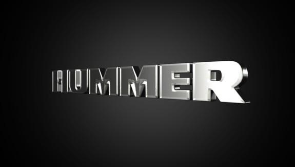 Hummer Logo 3D Wallpaper