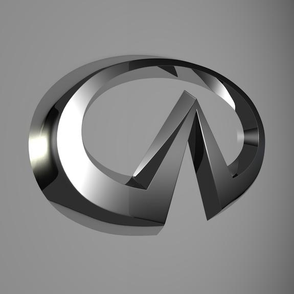 Infiniti Logo 3D Wallpaper