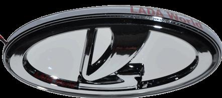 Lada Logo 3D Wallpaper
