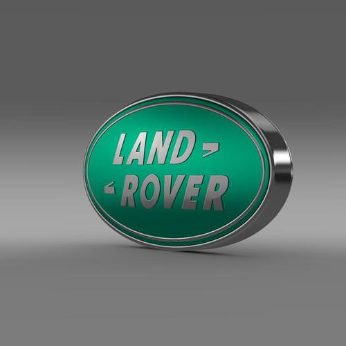 Land Rover Logo 3D Wallpaper