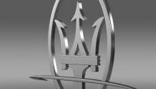 Maserati Logo 3D