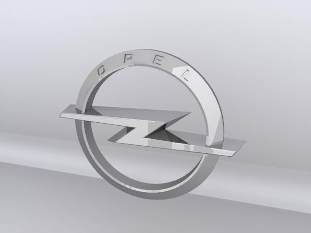 Opel Logo 3D Wallpaper