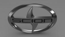 Scion logo 3D