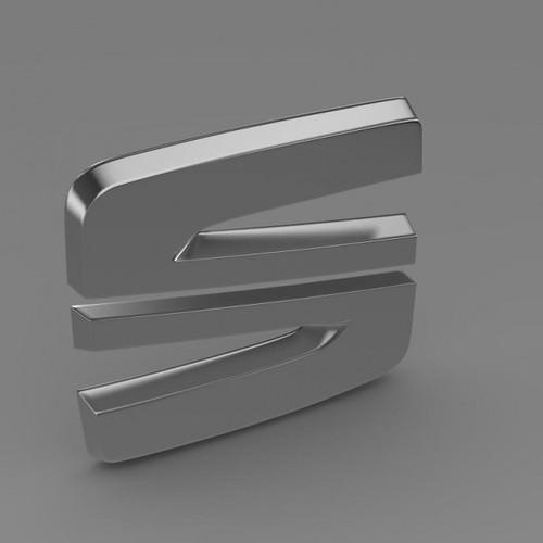 Seat logo 3D Wallpaper