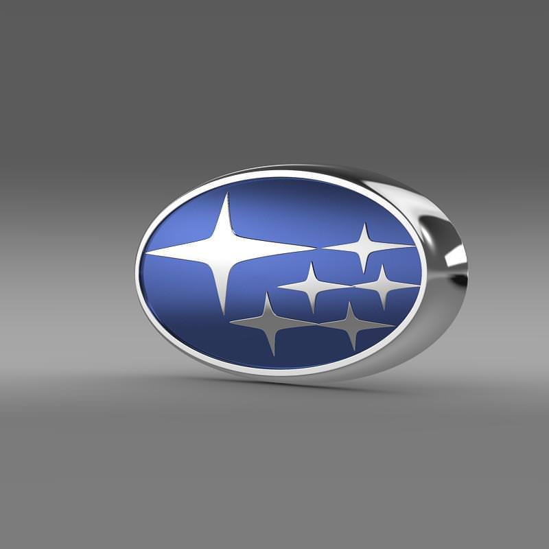 Subaru logo 3D Wallpaper