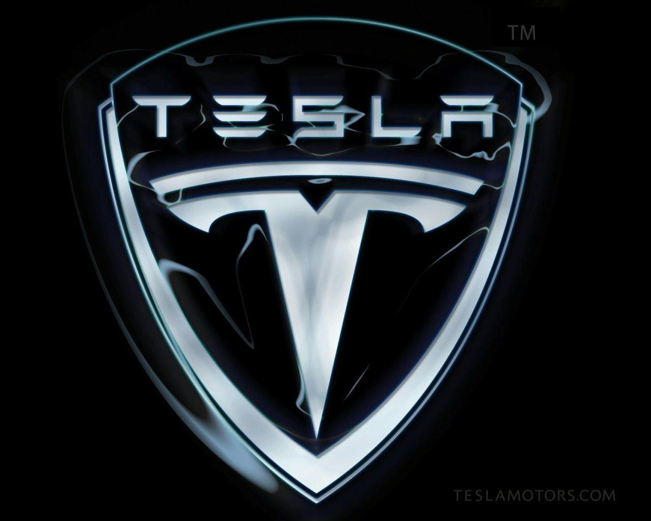 Tesla Logo Wallpaper