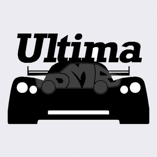 Ultima Logo 3D Wallpaper