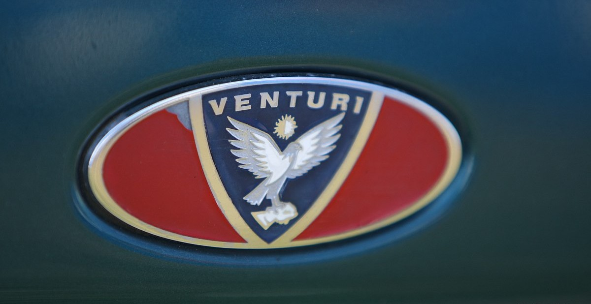 Venturi Logo 3D Wallpaper