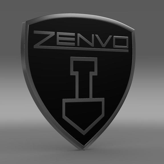 Zenvo Logo 3D Wallpaper