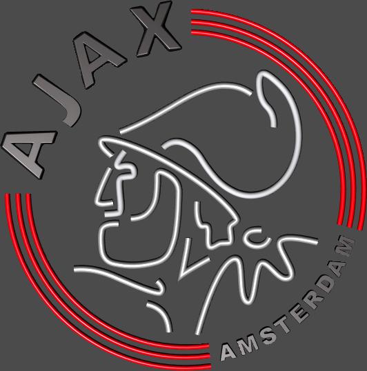 AFC Ajax Logo 3D Wallpaper