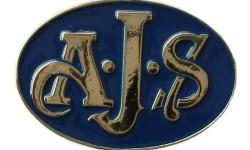 AJS badge
