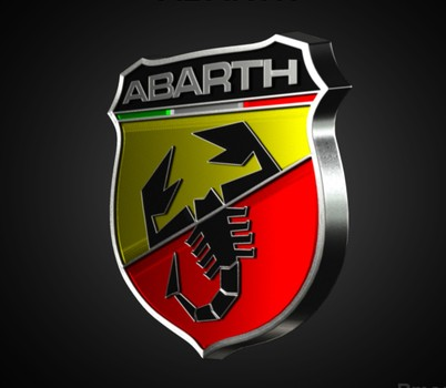 Abarth Logo 3D Wallpaper