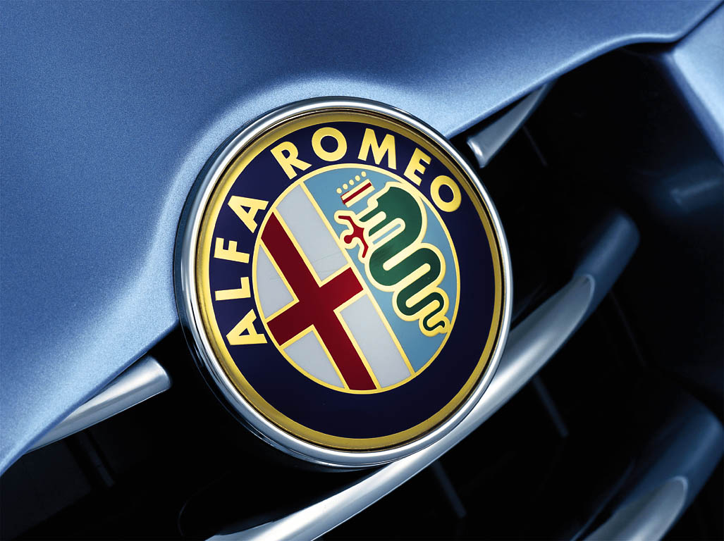 Alfa Romeo branding Wallpaper