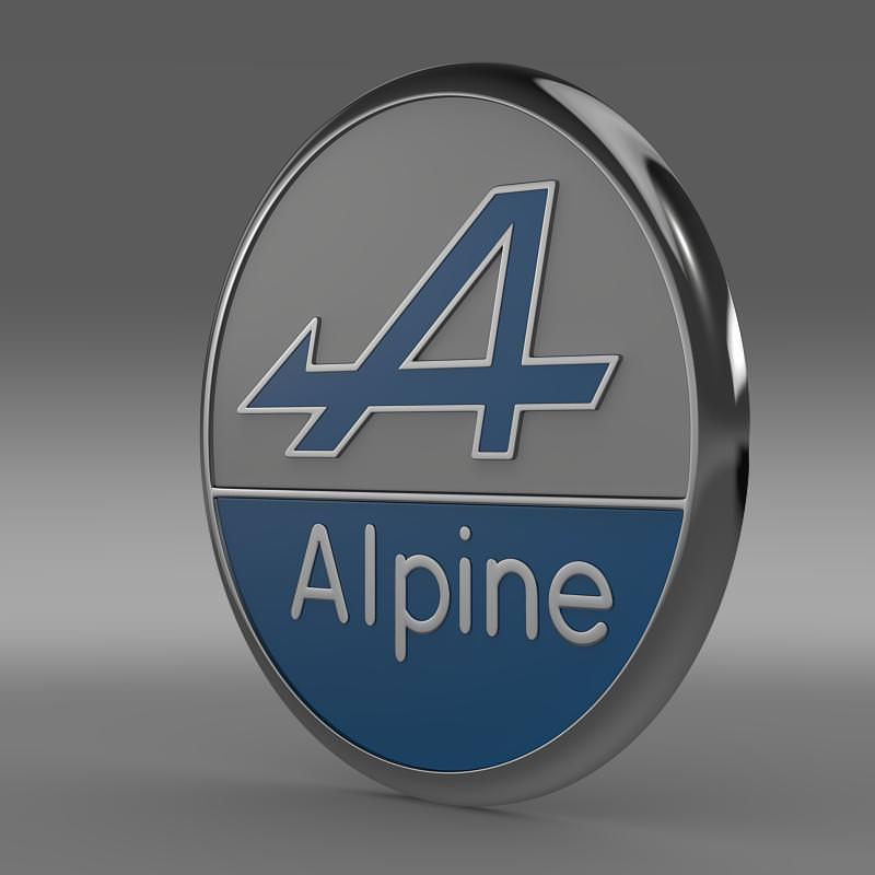Alpine Logo Wallpaper