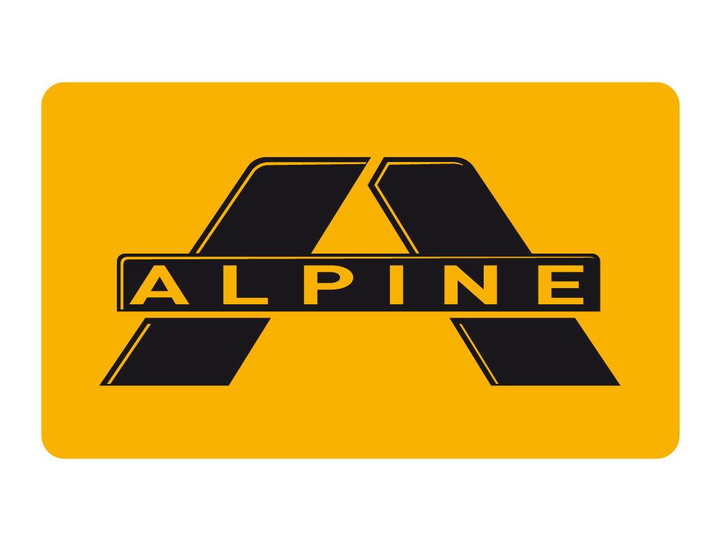 Alpine Symbol Wallpaper