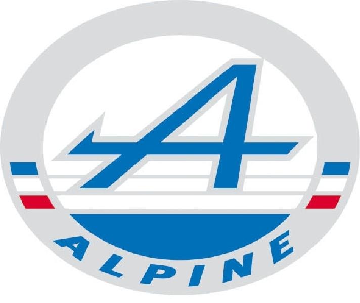 Alpine branding Wallpaper