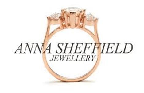 Anna Fashion Jewellery Logo 3D Wallpaper