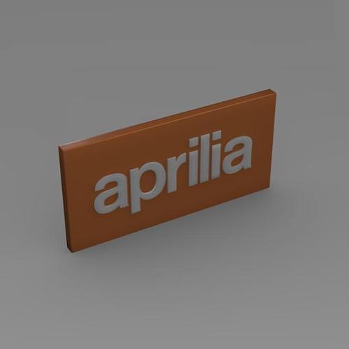 Aprilia Logo 3D Wallpaper