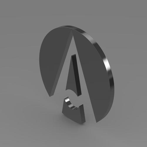 Ariel Logo 3D Wallpaper