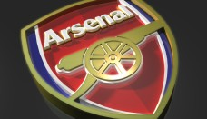 Arsenal FC Logo 3D