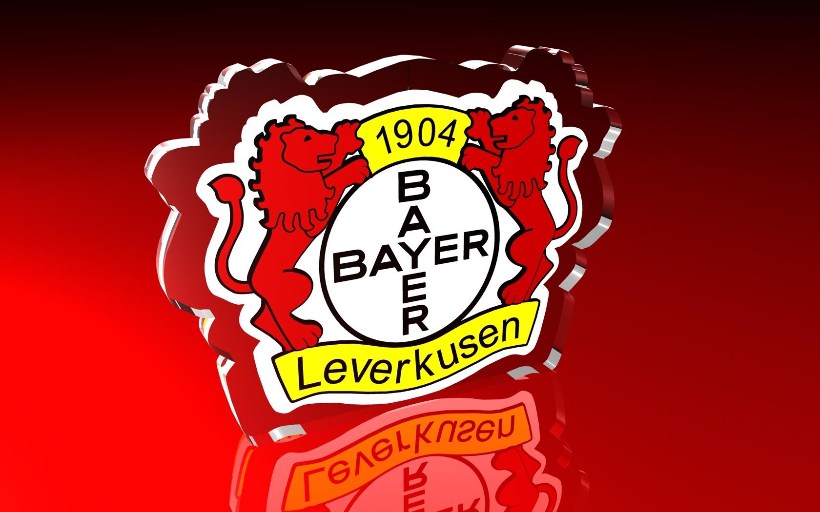 Bayer 04 Leverkusen Logo 3D Wallpaper