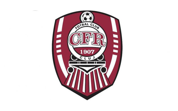 CFR 1907 Cluj Logo 3D Wallpaper