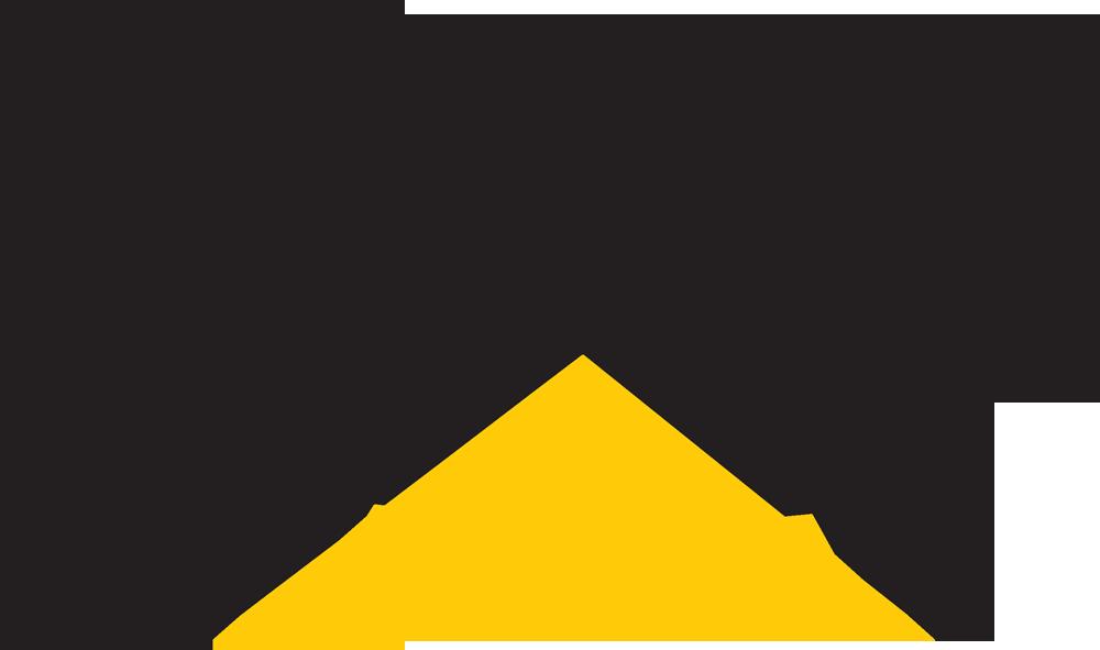 Caterpillar Logo 3D Wallpaper