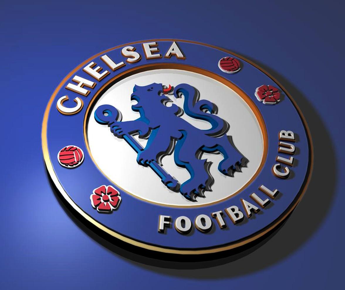 Chelsea FC Logo 3D Wallpaper
